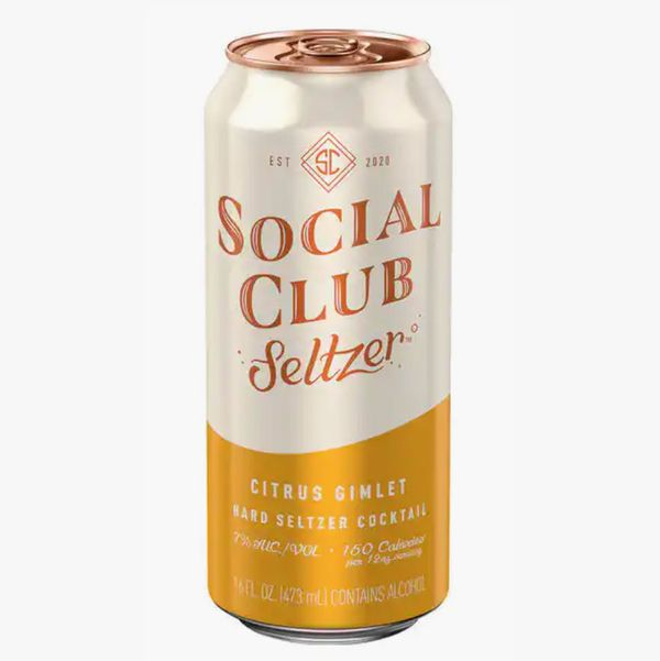 Social Club Selzter in Citrus Gimlet