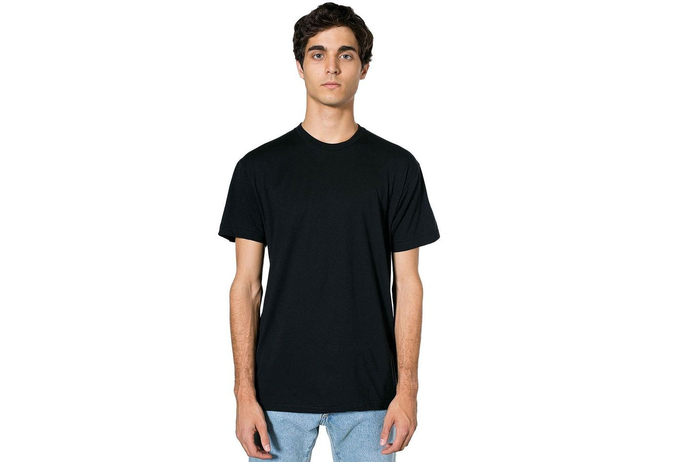 American Apparel 50/50 Crewneck T-Shirt