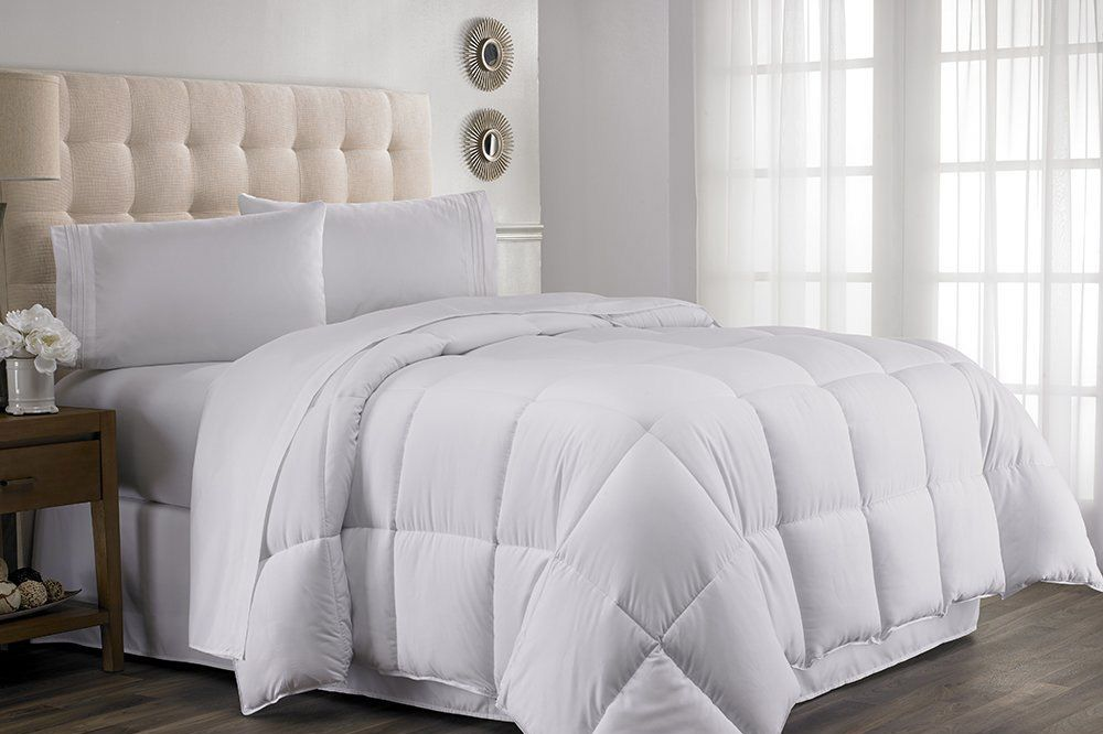 comforter white modern elegant set fluffy bedding big style best