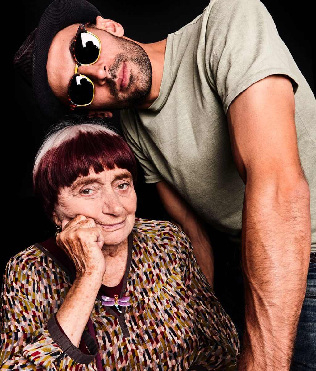Agnes Varda And Jr Talk Aging Faces Places And Road Trips Over Afternoon Tea