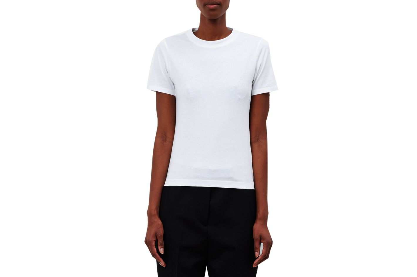 Acne Studios Optic White Dorla Crewneck T-shirt, 2-Pack