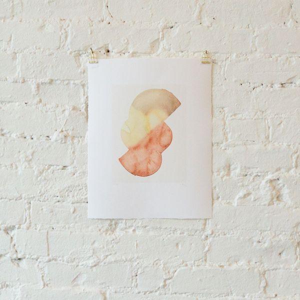 Leanne Shapton, Goblin Market, Pears II, 2018