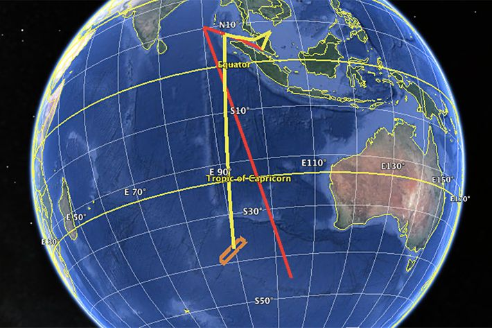 Exclusive: MH370 Pilot Flew a Suicide Route on His Home Simulator