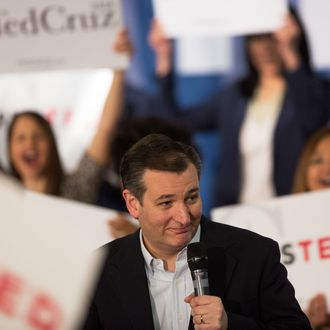 Presidential Candidate Ted Cruz Campaigns In Southern California