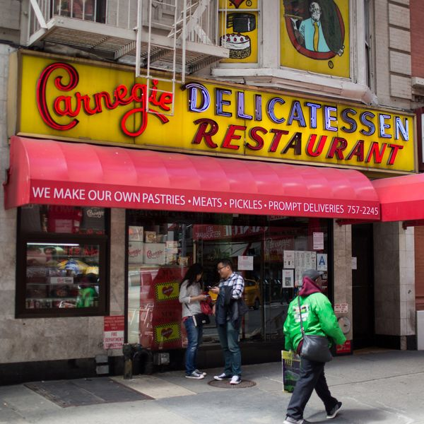 Hallelujah: Carnegie Deli Is Open Again
