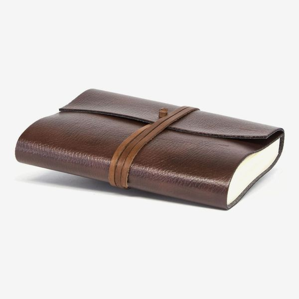 Tivoli Refillable Recycled Leather Bound Journal
