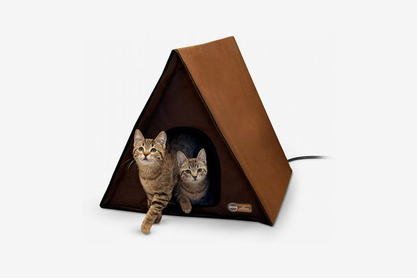 K&H Pet Products Outdoor Multi-Kitty A-Frame