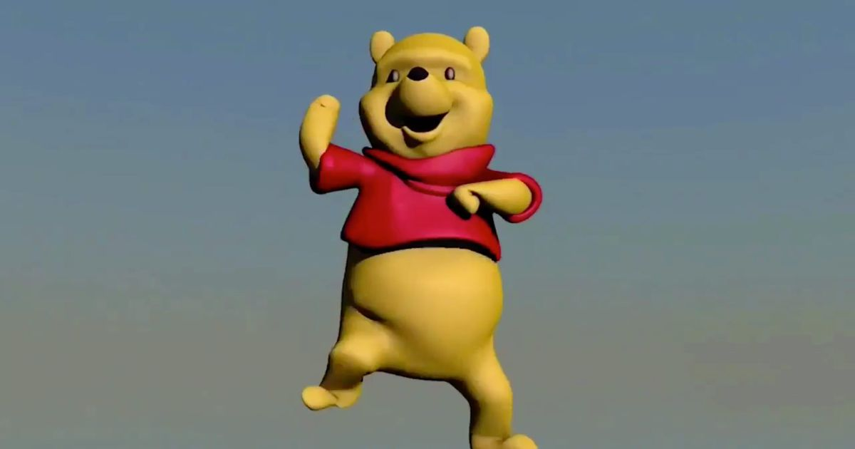 Winnie the Pooh Dancing Meme Takes Over Twitter