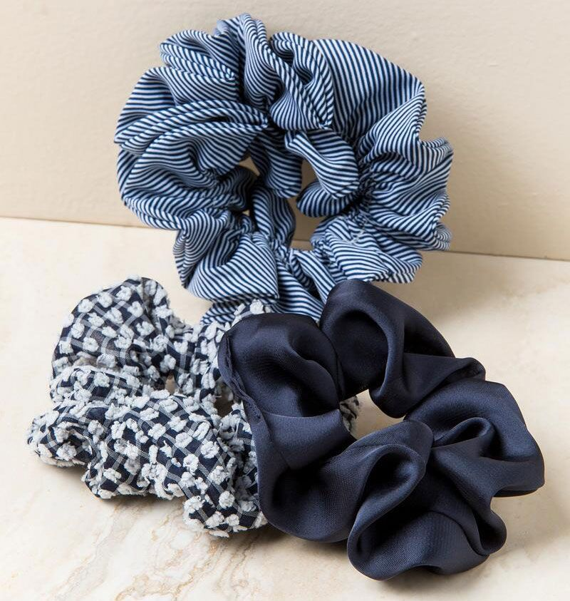 Jazlene Scrunchie Hair Ties