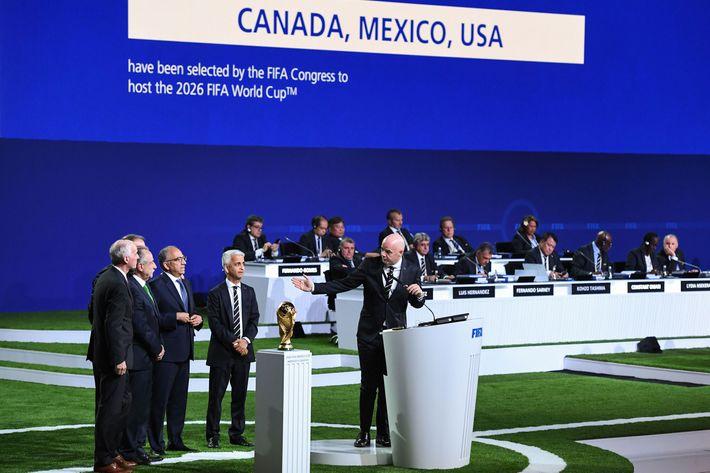 Αποτέλεσμα εικόνας για US, Mexico and Canada to host 2026 World Cup