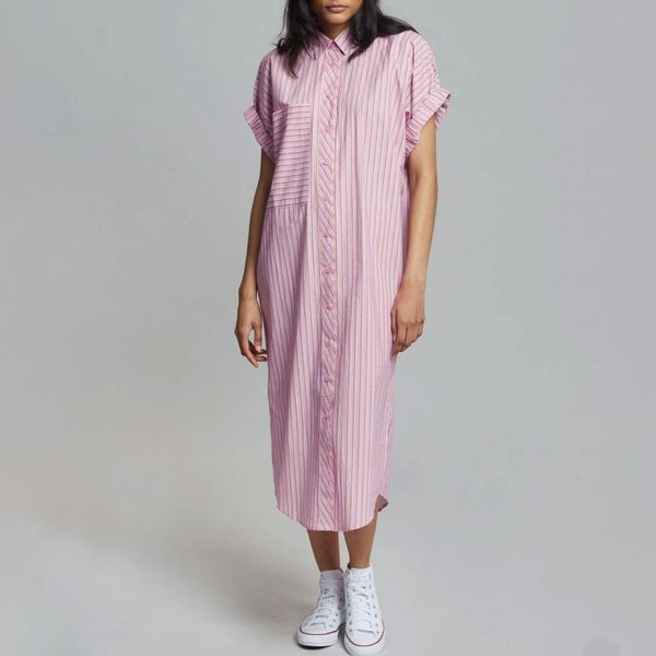 Vita Shirt Dress Candy Stripe