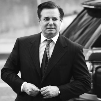 Paul Manafort, not in a jacket made from an ostrich.