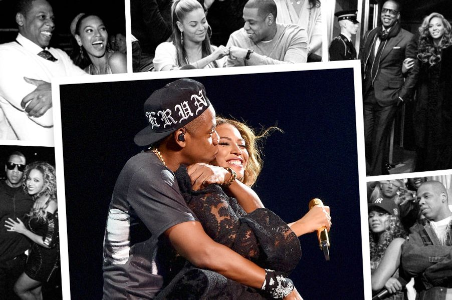 beyonce and jay z relationship start