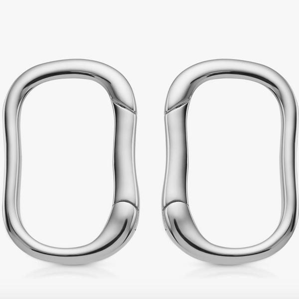 Monica Vinader Alta Stud Earrings, Silver