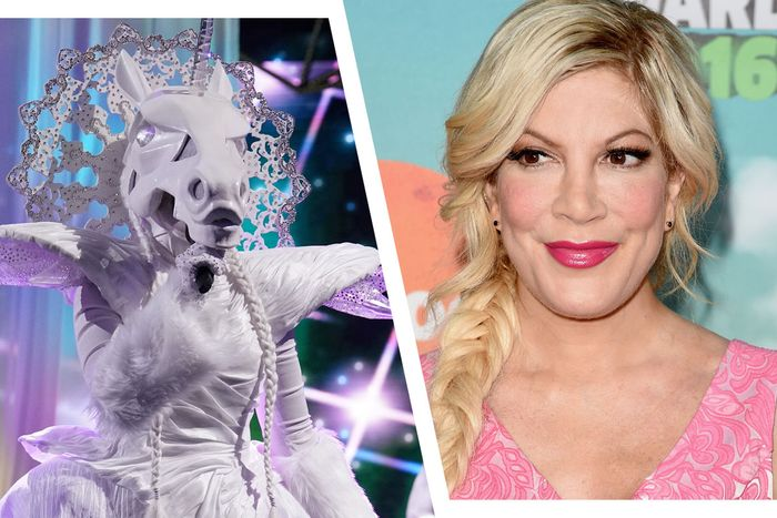 The Unicorn is … Tori Spelling?