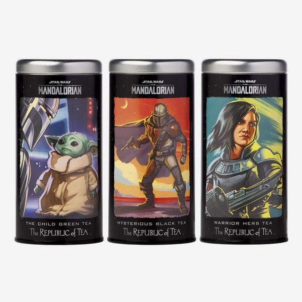The Republic of Tea Star Wars: The Mandalorian 3 Tin Collectors Pack