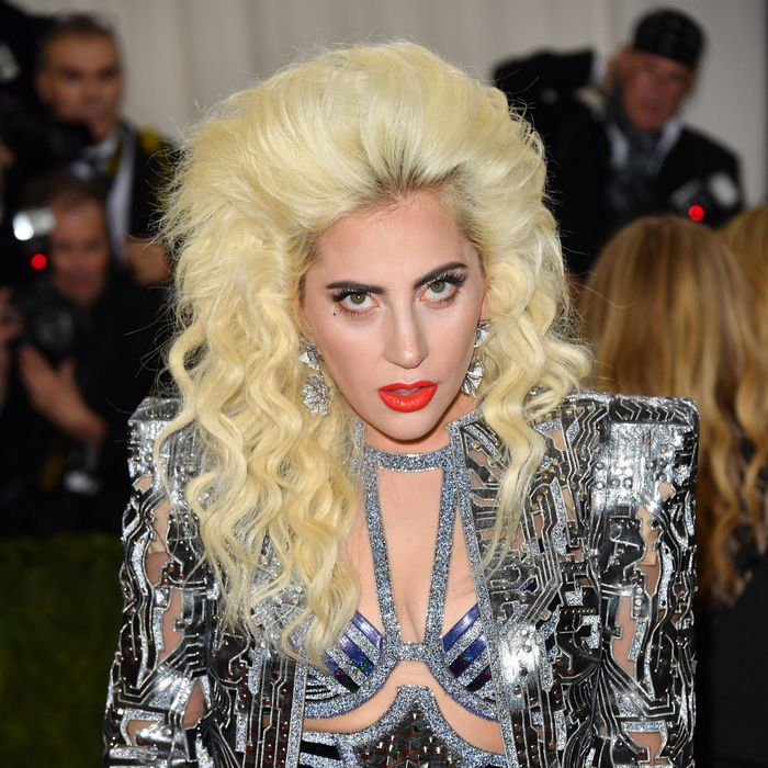 Lady Gaga at the Met Gala