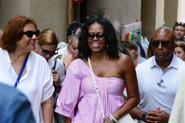 Where to Buy Michelle Obama's Trendy One-Shoulder Top