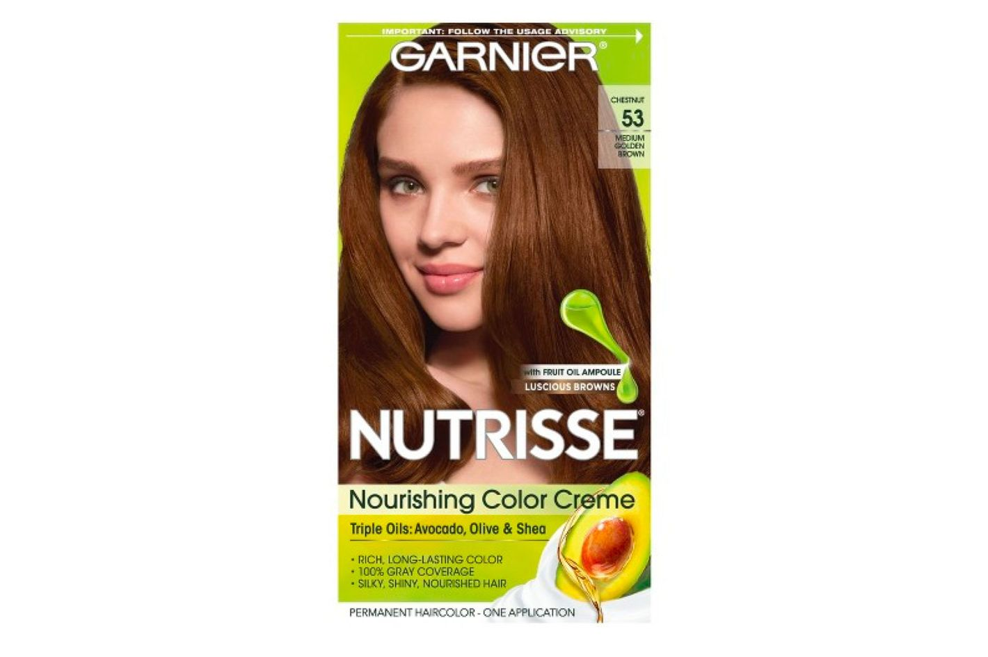 Garnier Nutrisse Nourishing Hair Color Crème