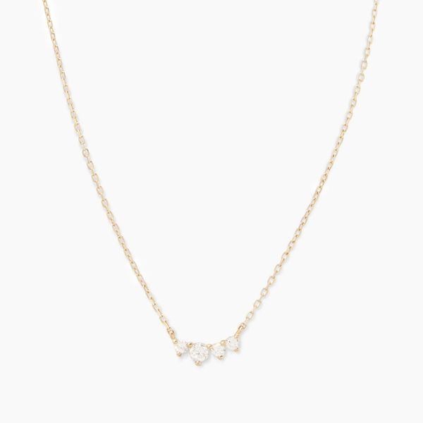 Gorjana Diamond Cluster Necklace