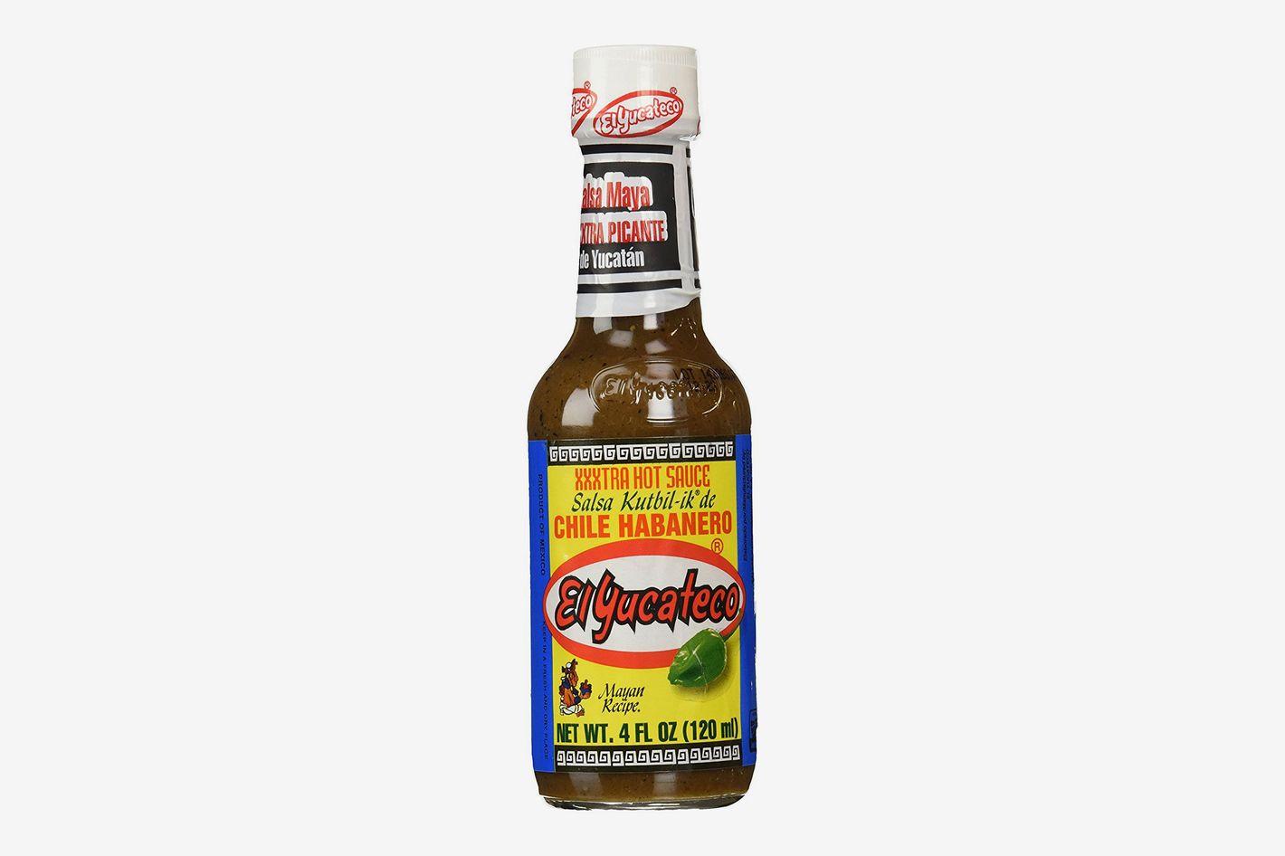 El Yucateco XXXtra Hot Kutbil-ik Mayan Style Habanero Hot Sauce