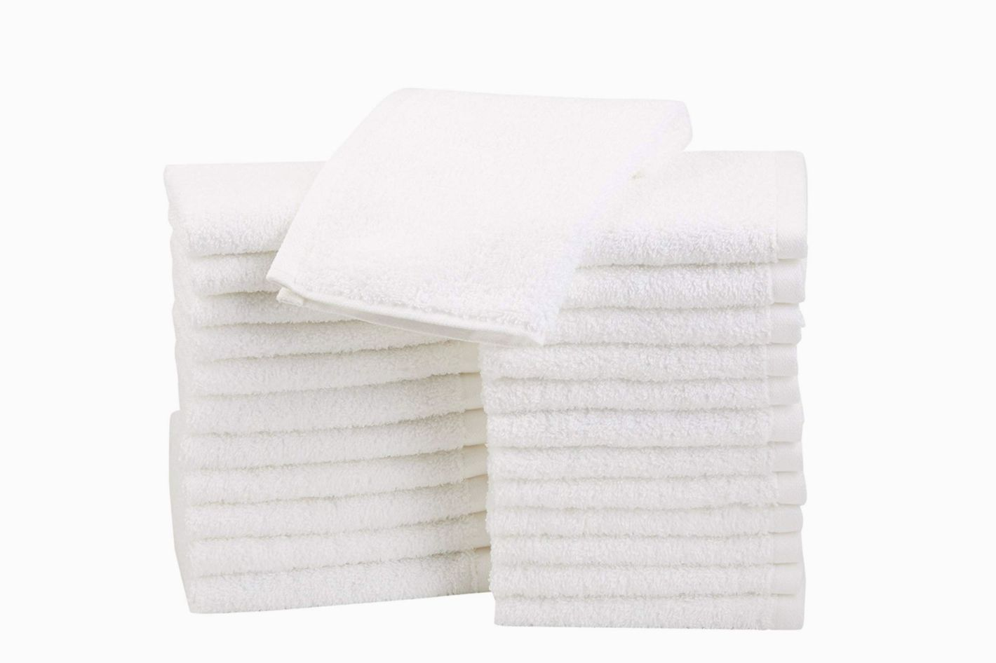 Amazon Basics Cotton Wash Cloths