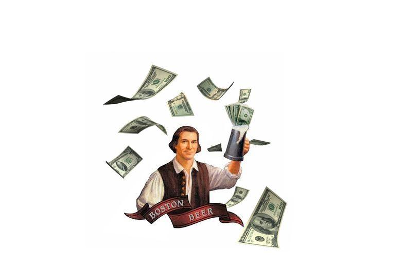Sam Adams, a.k.a. Old Moneybags.