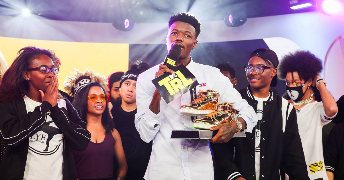DC Young Fly attends MTV TRL Presents AYO & TEO And Jacob Satorius With Guests Josh Gad And Liza Koshy at MTV Studios on November 6, 2017 in New York City.