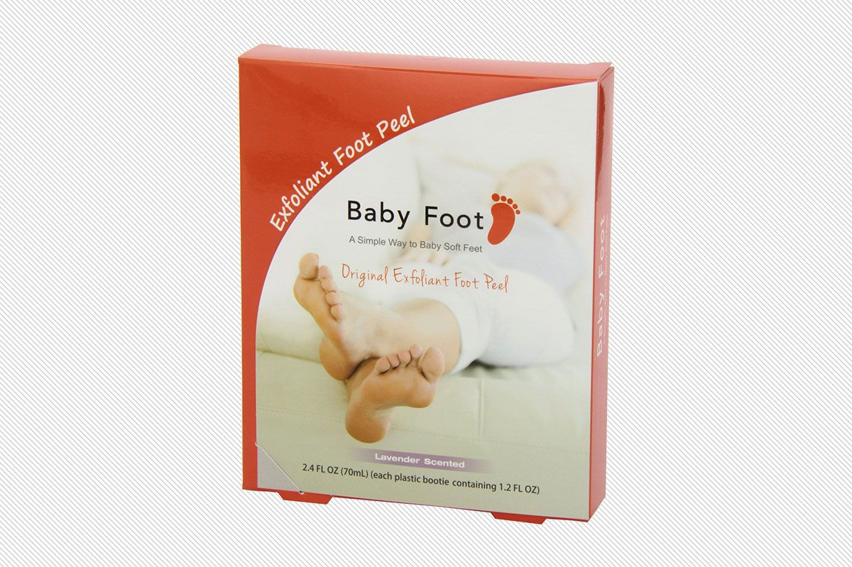Baby Foot Exfoliation for Feet Peel