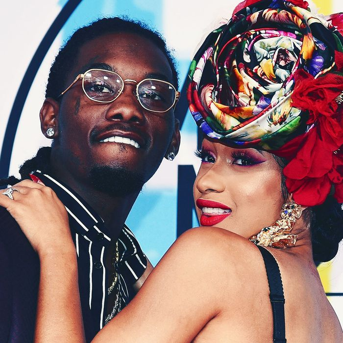 Is Cardi B S Offset Name Tattoo Real The Ink Is A Giant: Cardi B And Offset Break Up After One Year Of Marriage