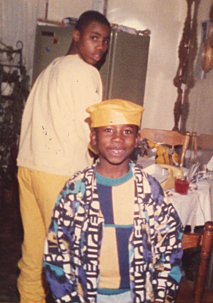 Radric Davis, The Future Gucci Mane. Photo: Courtesy Of Victor U201cDukeu201d  Davis/Simon U0026 Shuster