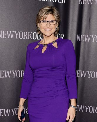Ashleigh Banfield== The New York Observer's New Look Hosted by Jared Kushner and Joseph Meyer== Casa Lever, NYC== April 1, 2014== ?Patrick McMullan== Photo - Clint Spaulding/PatrickMcMullan.com== ==