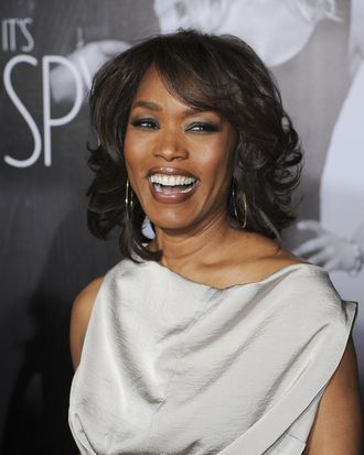 Actress Angela Bassett arrives at the Los Angeles premiere of