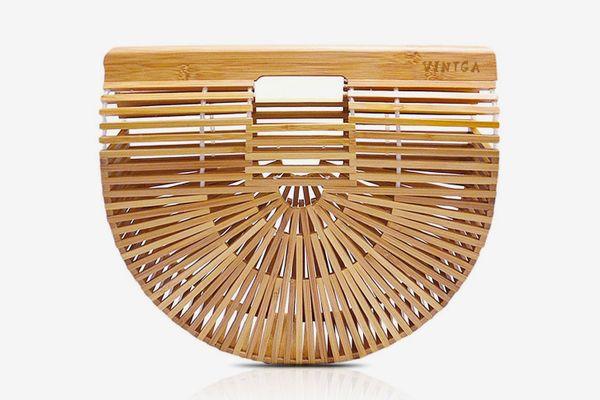 Vintga Bamboo Handbag