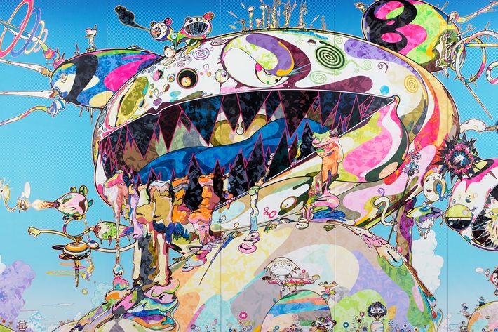 Takashi Murakami Colorful Painting