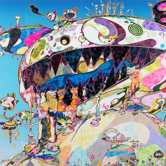 Takashi Murakami Colorful Painting