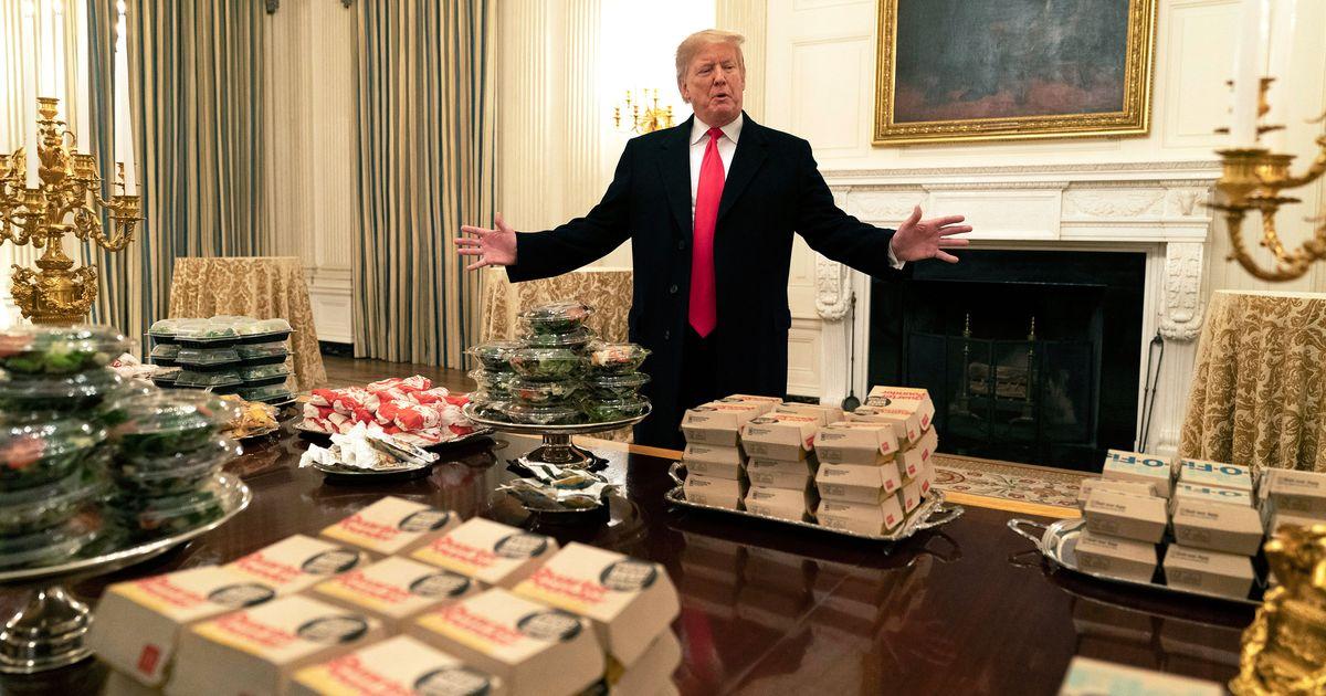 Fast Food Deserves Better Than Donald Trump
