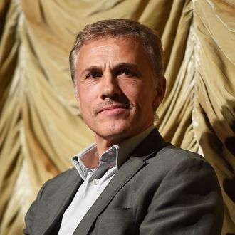 LOS ANGELES, CA - NOVEMBER 13: Actor Christoph Waltz attends the Film Independent at LACMA Special Screening of