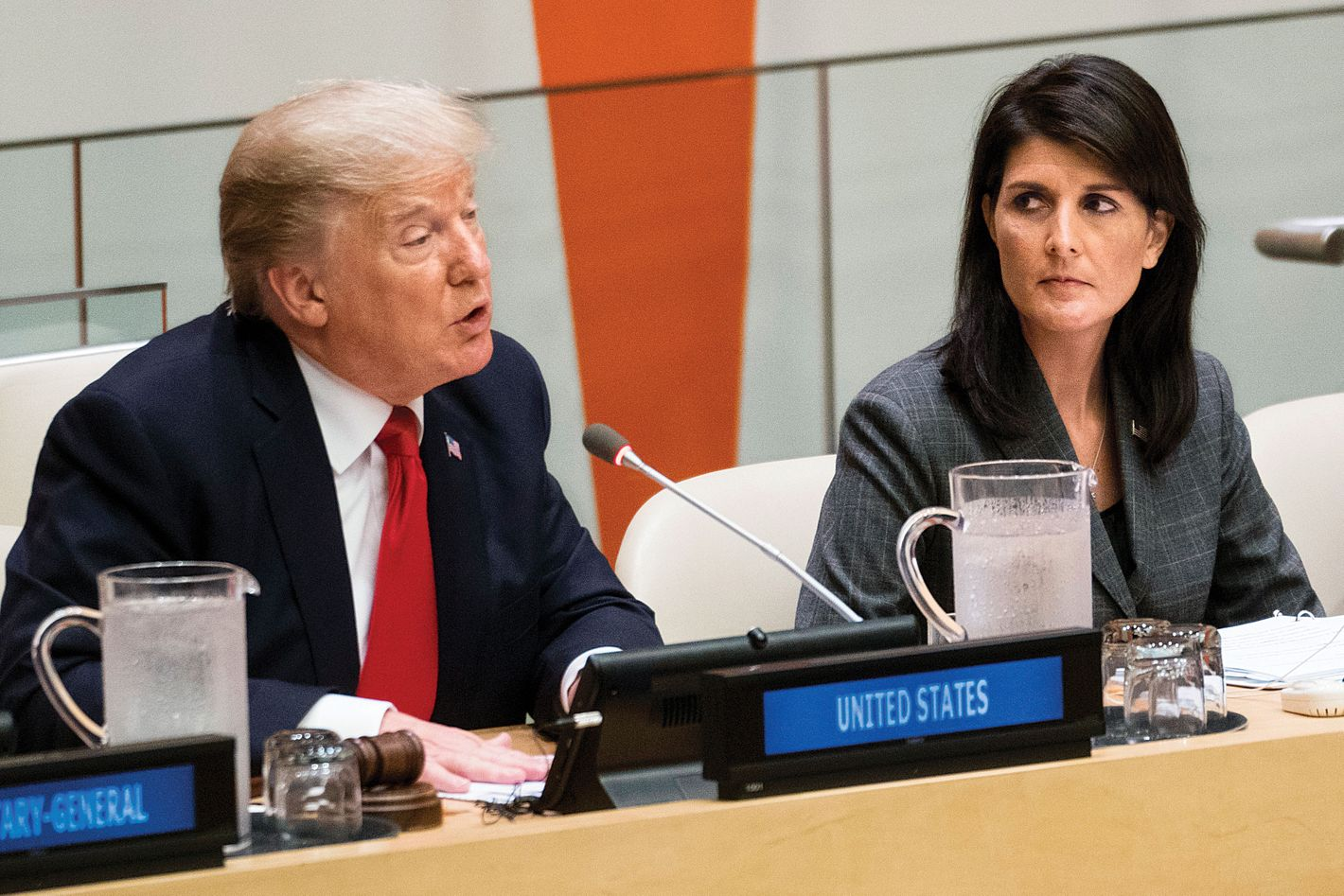 Image result for Trump Personally Declares War on UN, Doubles Down on Haley Statement