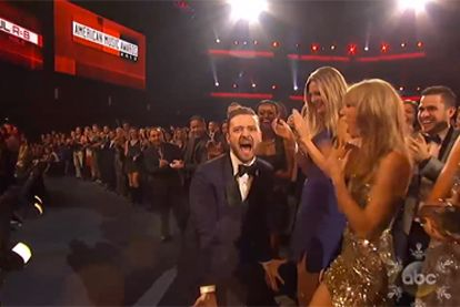 New Yorker Justin Timberlake Taylor Swift