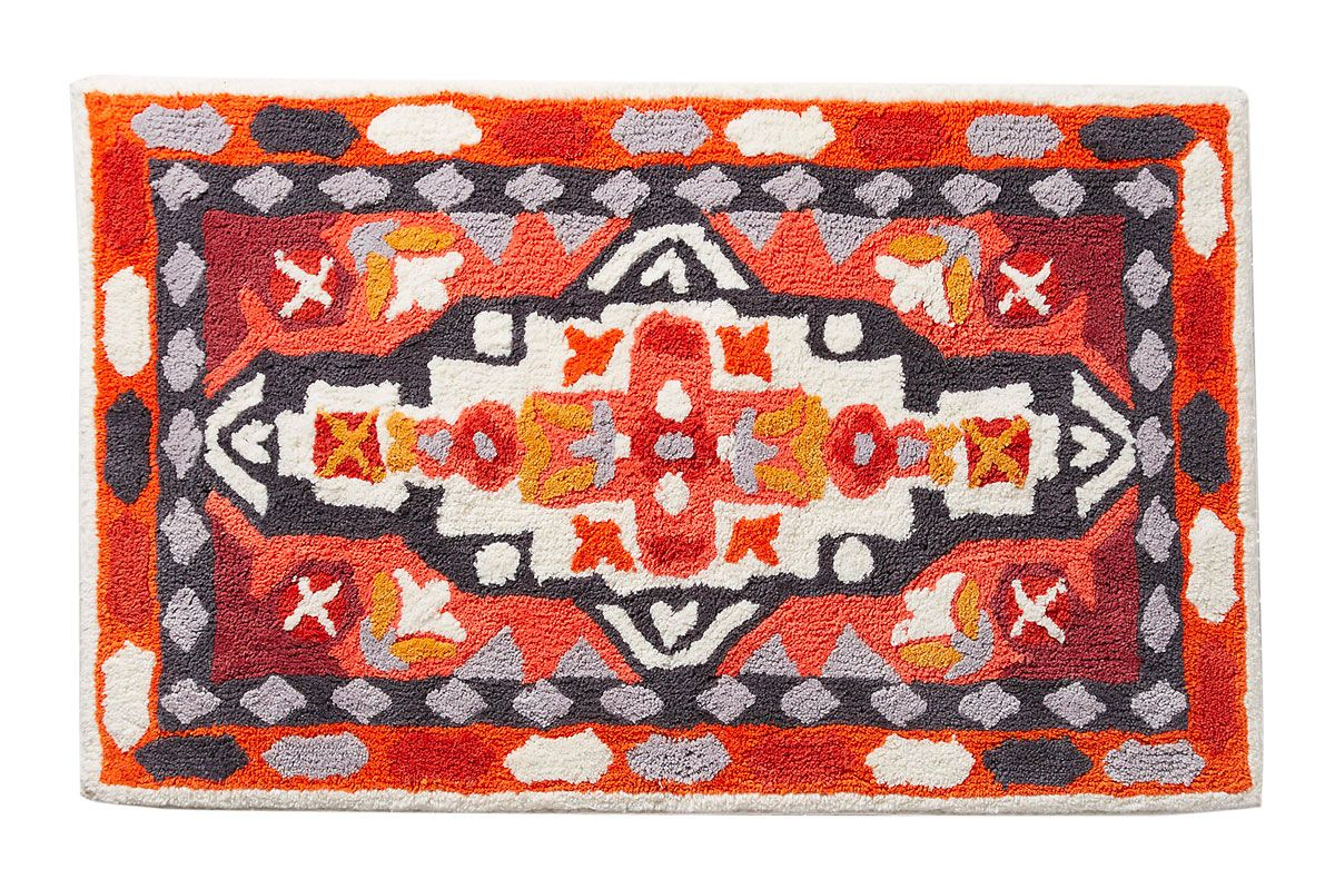 More of a bath kilim. Best Bath Mats and Bathroom Rugs