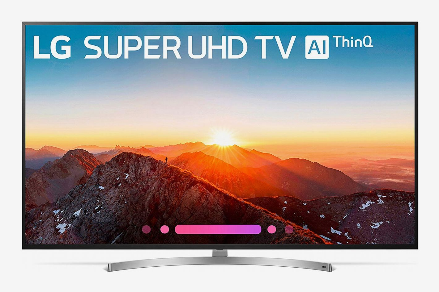 LG 75SK8070PUA 75-Inch 4K Ultra HD Smart LED TV (2018 Model)