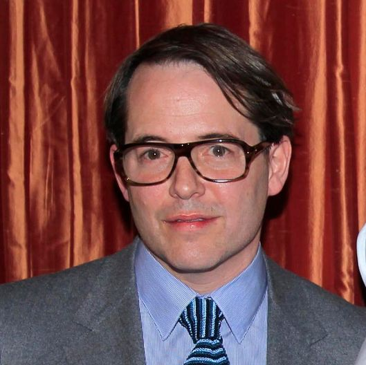 Matthew Broderick at Opening Night Performance for Tony Award Winner Christine Ebersole.