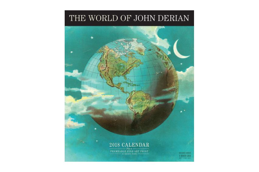 The World of John Derian Wall Calendar 2018
