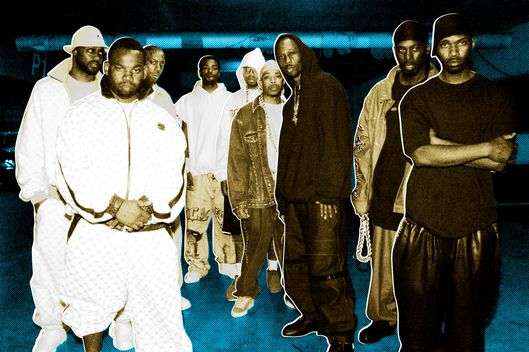 Wu Tang Clan at the filming of their new video in Los Angeles, Ca. 9/18/00.