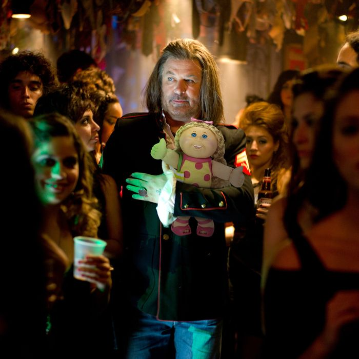 "ALEC BALDWIN as Dennis Dupree in New Line Cinema's rock musical ""ROCK OF AGES,"""