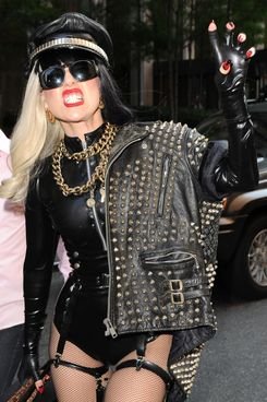 Lady Gaga visits the 'Howard Stern Show' and the Z100 Music Station in Manhattan, NYC. <P> Pictured: Lady Gaga <P> <B>Ref: SPL298580  180711  </B><BR/> Picture by: Doug Meszler / Splash News<BR/> </P><P> <B>Splash News and Pictures</B><BR/> Los Angeles:310-821-2666<BR/> New York:212-619-2666<BR/> London:870-934-2666<BR/> photodesk@splashnews.com<BR/> </P>