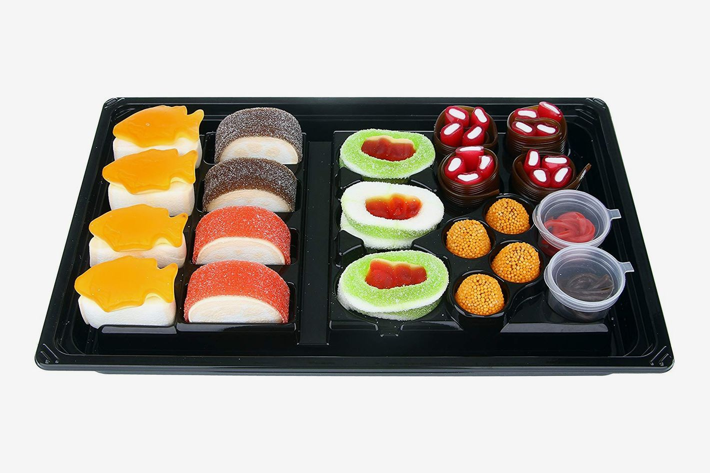 Raindrops Candy Gummy Sushi Bento Box