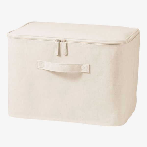 Cotton Linen Zip Box