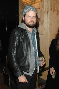 Winston Marshall== The Levi's brand presents a special NY screening of MISTAKE FOR STRANGERS After Party== Westway, NYC== March 26, 2014== ©Patrick Mcmullan== Photo- Paul Bruinooge/PatrickMcMullan.com-== ==